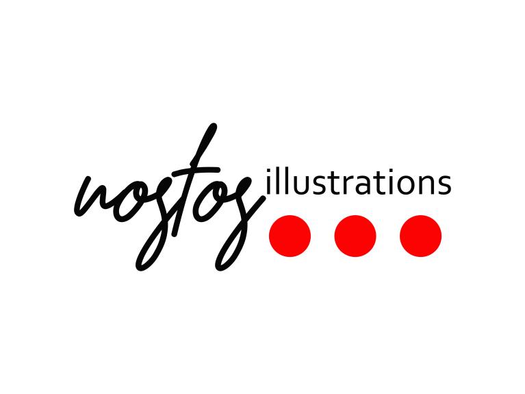 nostos illustrations logo